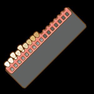 歯の色の測定
